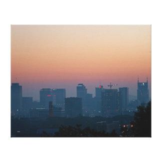 Morning Sunrise Nashville Canvas Print