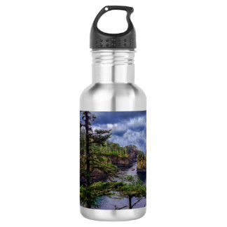 morning sunrise olympic peninsula Cape Flattery 532 Ml Water Bottle