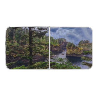 morning sunrise Olympic peninsula Cape Flattery Beer Pong Table
