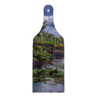 morning sunrise olympic peninsula Cape Flattery Cutting Board