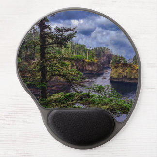 morning sunrise olympic peninsula Cape Flattery Gel Mouse Pad