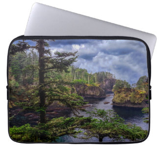 morning sunrise Olympic peninsula Cape Flattery Laptop Computer Sleeves