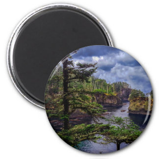 morning sunrise olympic peninsula Cape Flattery Magnet