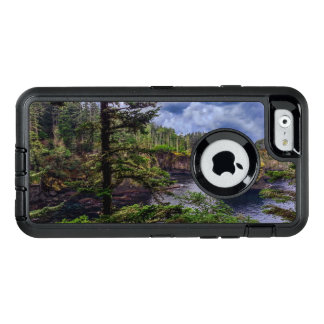 morning sunrise olympic peninsula Cape Flattery OtterBox Defender iPhone Case