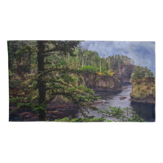 morning sunrise olympic peninsula Cape Flattery Pillowcase