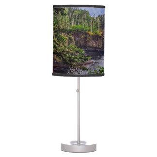 morning sunrise olympic peninsula Cape Flattery Table Lamp