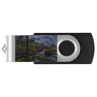 morning sunrise Olympic peninsula Cape Flattery USB Flash Drive