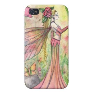 Morning Sunshine Flower Fairy Art Fantasy iPhone 4/4S Covers