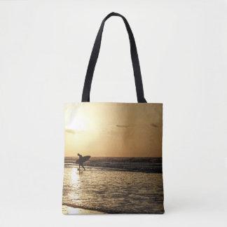Morning Surfer Tote Bag