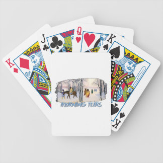 Morning Tears Bicycle Playing Cards