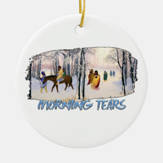 Morning Tears Ceramic Ornament