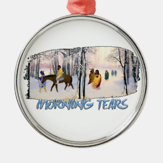 Morning Tears Metal Ornament