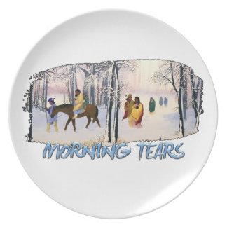 Morning Tears Plate