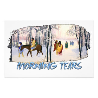 Morning Tears Stationery