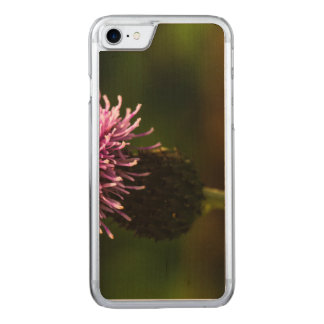 Morning Thistle Carved iPhone 8/7 Case