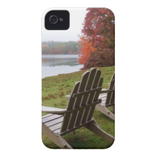 Morning Walk in Autumn iPhone 4 Case