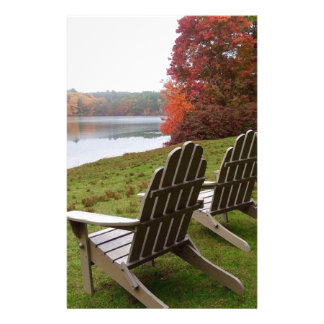 Morning Walk in Autumn Stationery