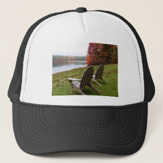 Morning Walk in Autumn Trucker Hat