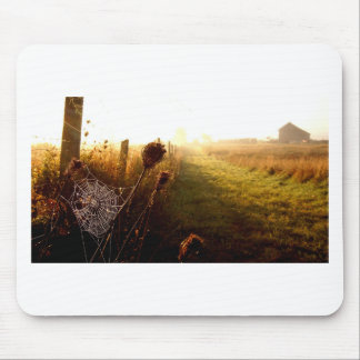 Morning Walk Mouse Pad