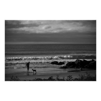 Morning Walk On The Beach fine art print