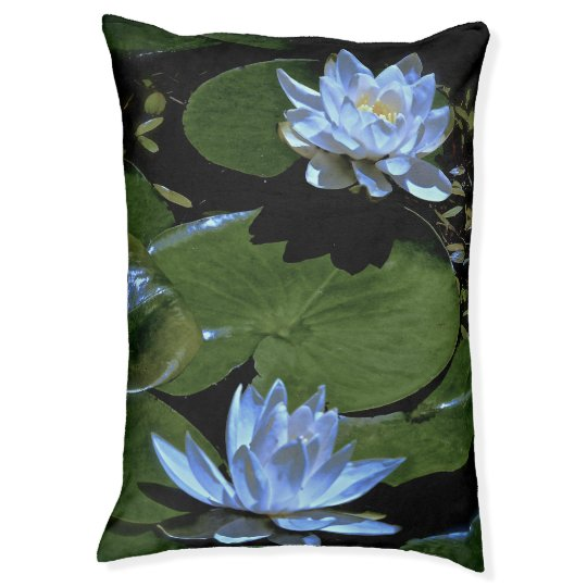 Morning Water Lilies Pet Bed