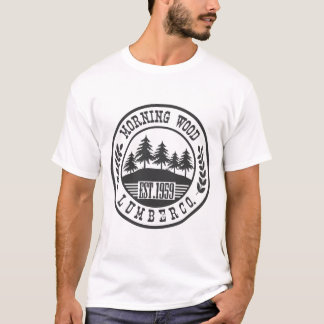 MORNING WOOD LUMBER CO, T-Shirt