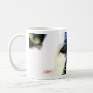 Mornings Are Such A Blur Cat Mug