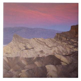 Mornings first light on  Zabriskie Point and 2 Tile