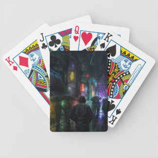 Mornings For People Of The Night Bicycle Playing Cards