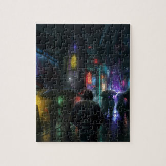 Mornings For People Of The Night Jigsaw Puzzle