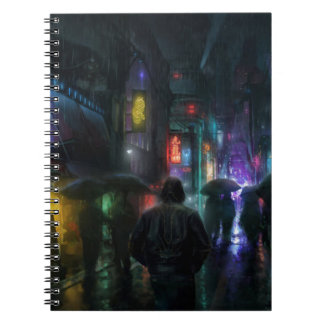 Mornings For People Of The Night Notebook