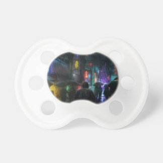 Mornings For People Of The Night Pacifier