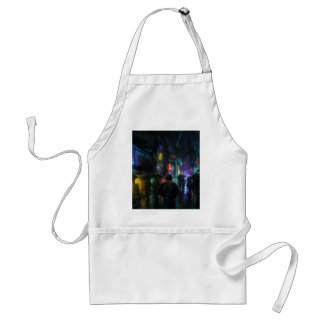 Mornings For People Of The Night Standard Apron