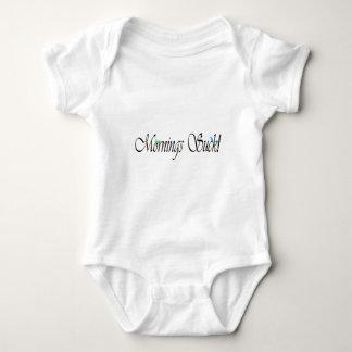 """Mornings Suck"" Baby Bodysuit"