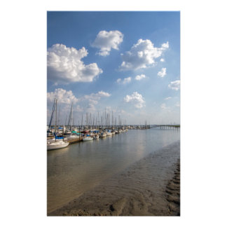 Morningstar Marina Sailboats Georgia USA Custom Stationery