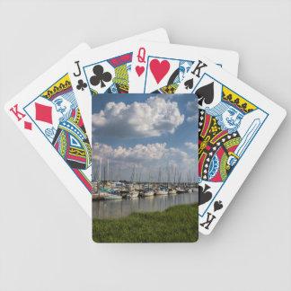 Morningstar Marina Sailboats Georgia USA Poker Deck