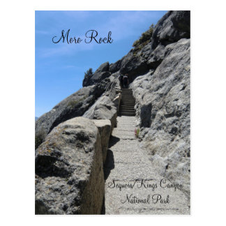 Moro Rock Sequoia National Park Postcard