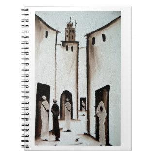 Moroccan Alleyway Note Book