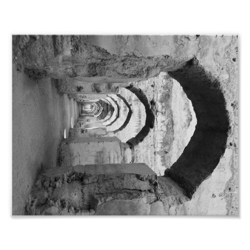 Moroccan Arches Poster