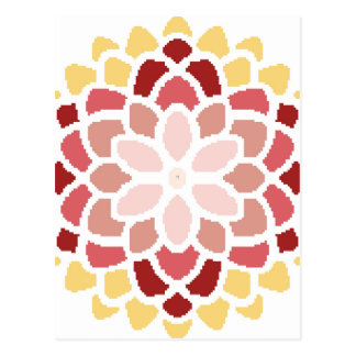 Moroccan Bloom Postcard