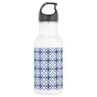 Moroccan Blue 532 Ml Water Bottle
