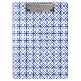 Moroccan Blue Clipboard