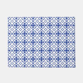Moroccan Blue Doormat