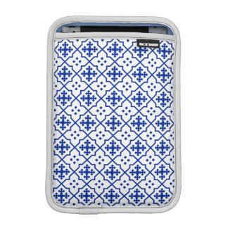 Moroccan Blue iPad Mini Sleeve