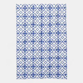 Moroccan Blue Kitchen Towel