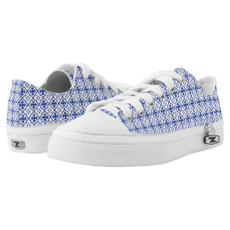 Moroccan Blue Low-Top Sneakers