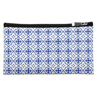 Moroccan Blue Makeup Bag