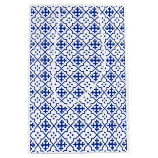 Moroccan Blue Medium Gift Bag