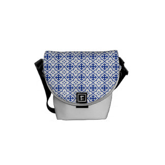 Moroccan Blue Messenger Bag