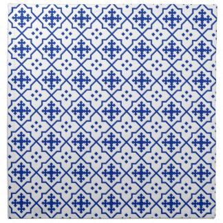 Moroccan Blue Napkin